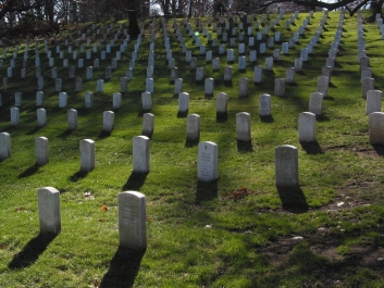 Part of the Arlington National Cemetery.